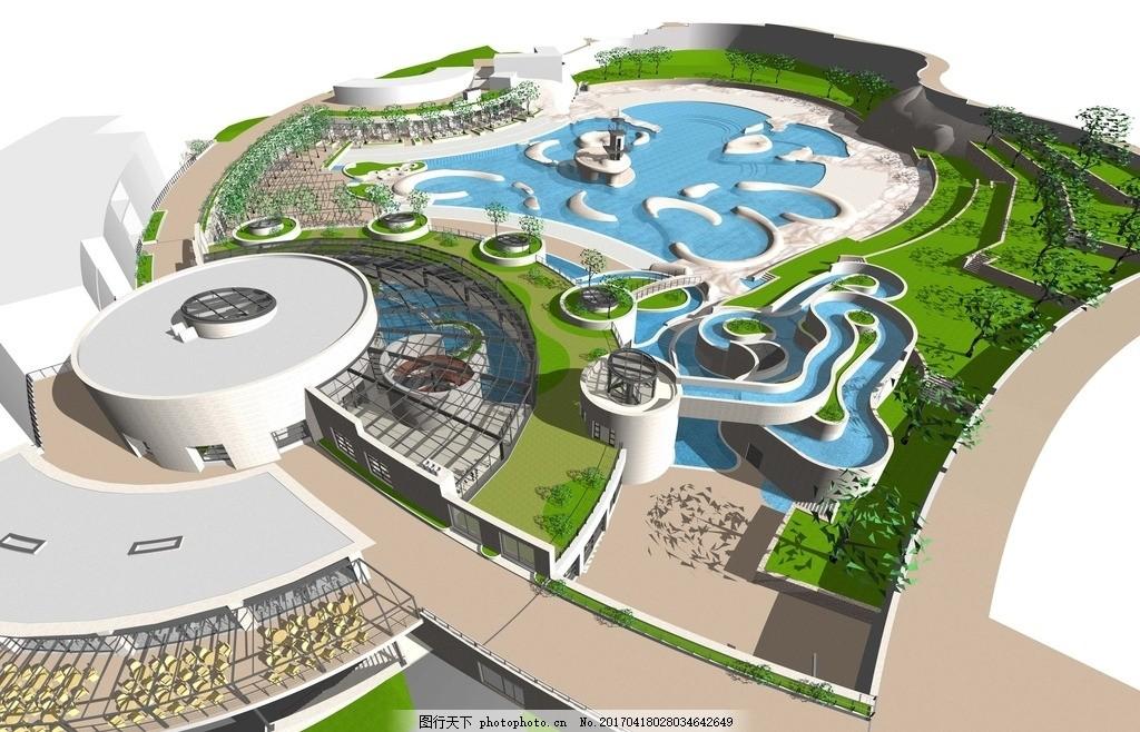 游乐园商业中心设计 乐园规划设计 游乐园 游乐场 主题乐园 公园设计