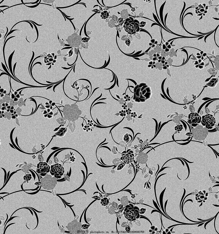 欧式藤蔓花 磨砂 藤蔓 贴膜 水晶板 桌布 台布 花纹 设计 底纹边框
