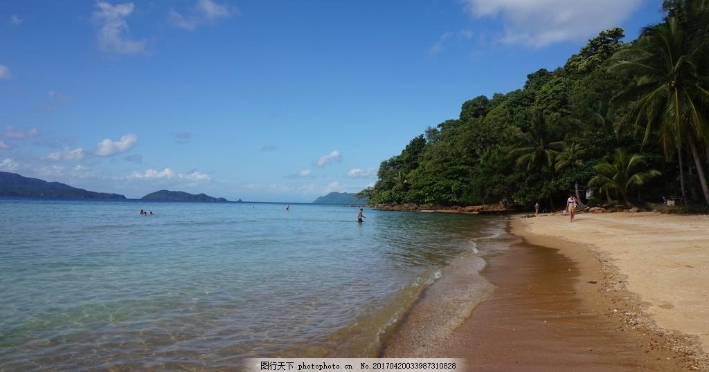 泰国象岛 象岛 泰国 泰国风光 泰国风情 泰国风景 泰国旅游 海边 沙
