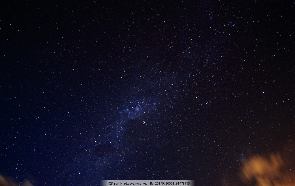 星空 夜空 星光 星星 星云 摄影 自然景观 自然风景 350dpi jpg