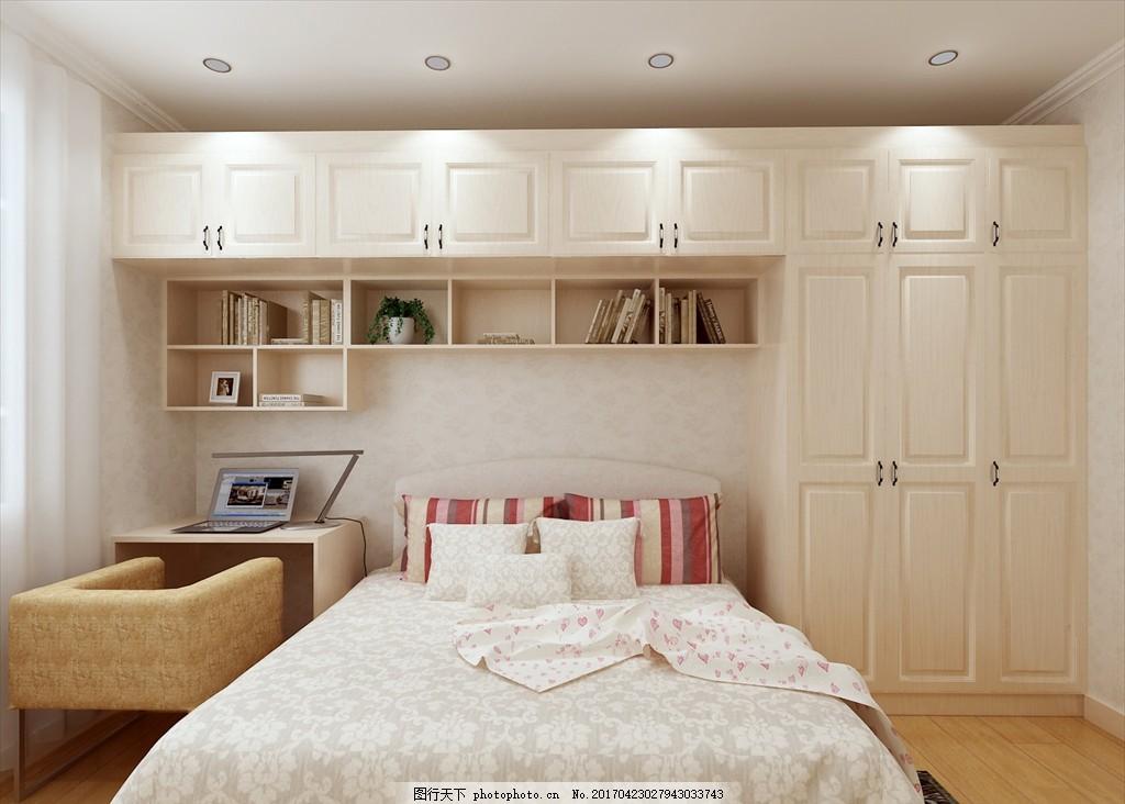 小卧 次卧 装修 室内        暖色 榻榻米 中式 欧式 柜子 床 设计
