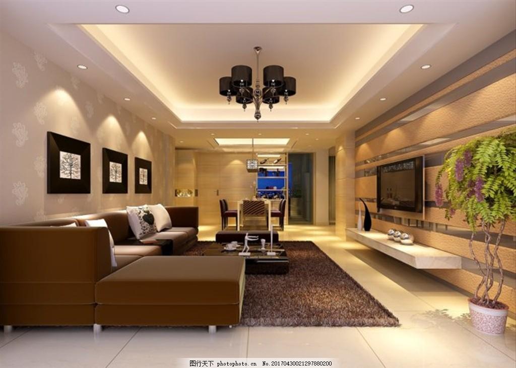 客厅装饰室内效果图 室内设计 室内效果图 室内装修 装饰公司 家装