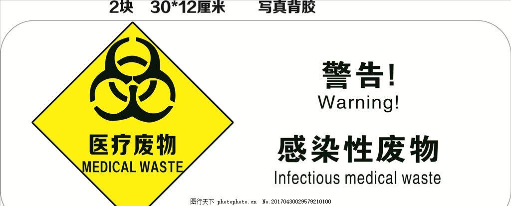 医院 医疗 废物 标志图片