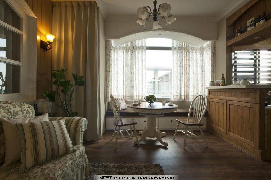 美式别墅主卧装修效果图 室内设计 家装效果图 美式装修效果图 奢华
