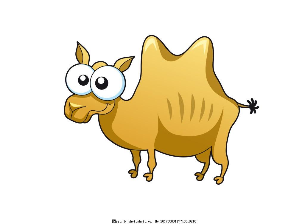 动物骆驼eps 卡通动物矢量素材图片下载 卡通动物 矢量动物 可爱动物