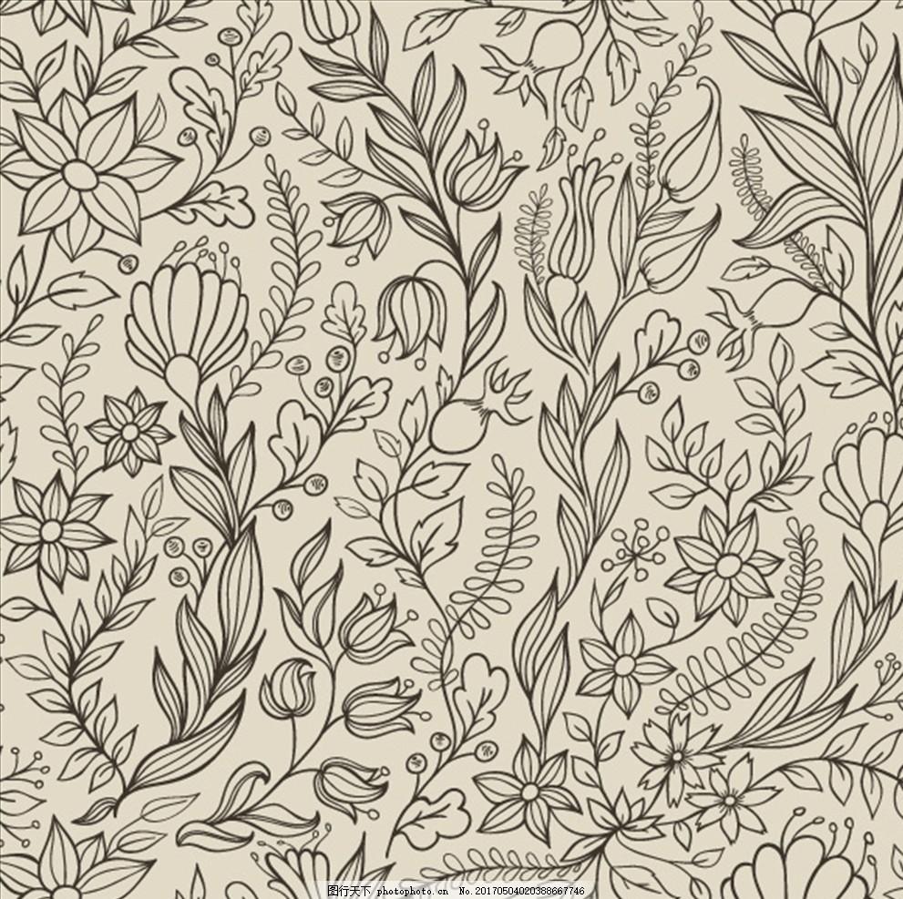 树枝树叶 墙纸布艺 壁纸 树叶花纹 树枝 线条花纹 黑色花纹 墙纸 树叶