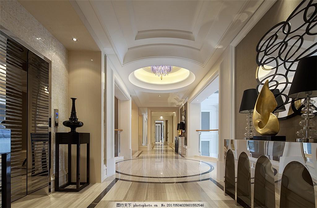 简约欧式家居装修效果图 室内装修设计效果图 图片下载 室内装修 时尚