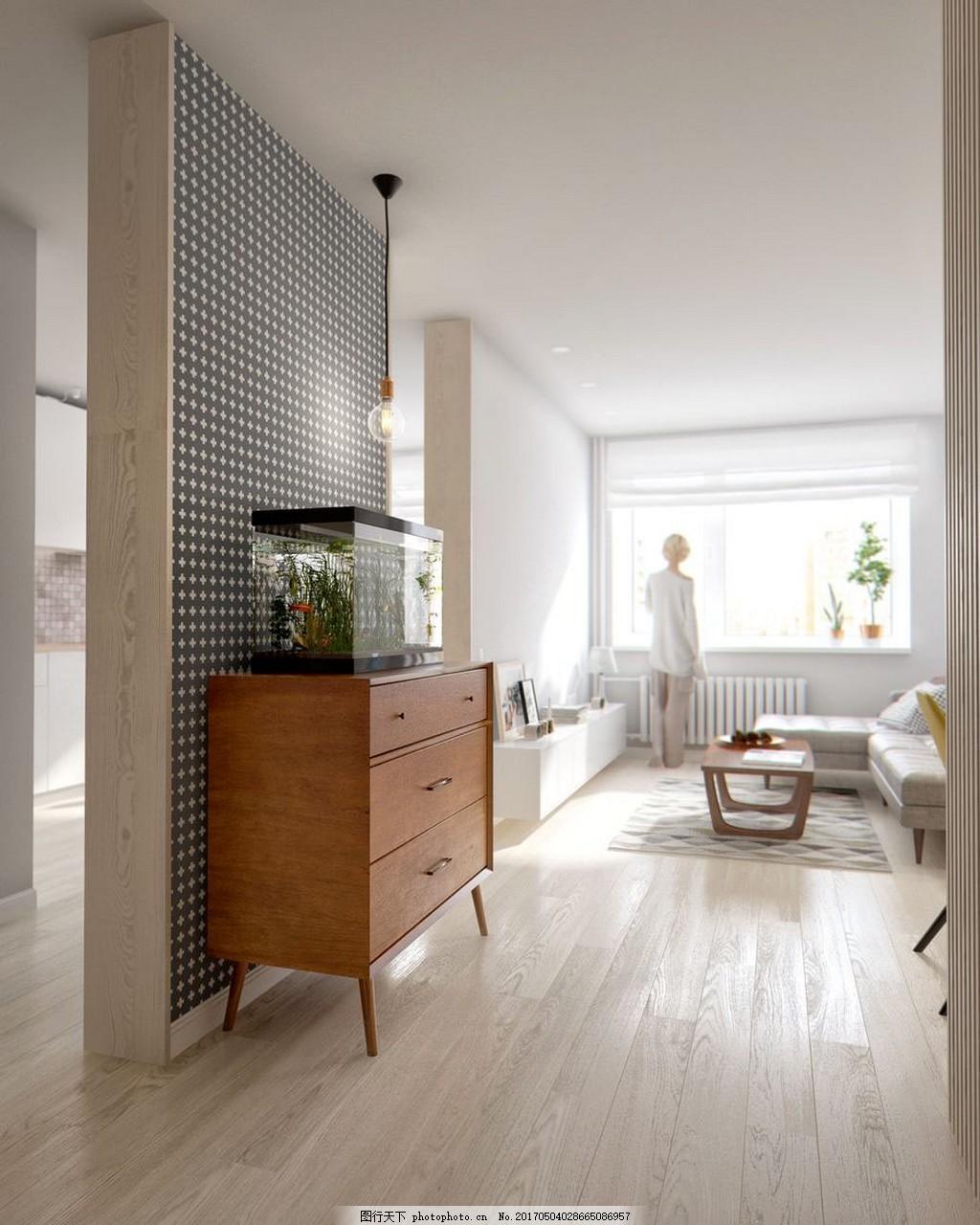 美式客厅简装效果图 室内设计 家装效果图 现代装修效果图 时尚 奢华