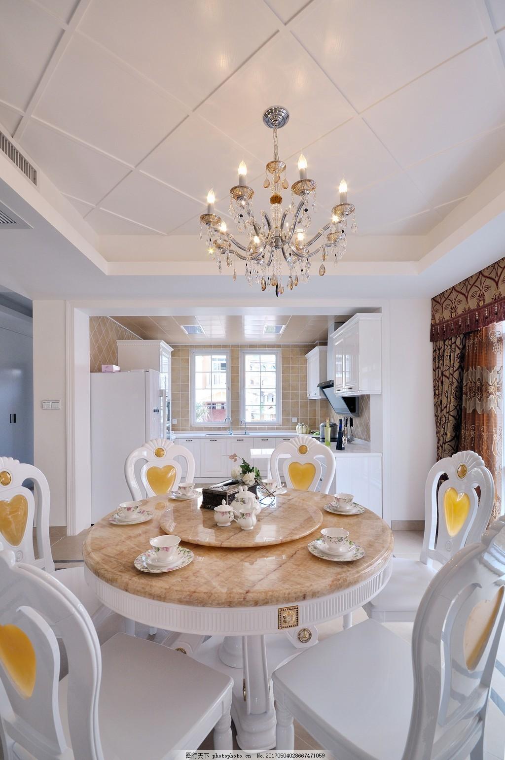 时尚餐厅餐桌餐具设计图 家居 家居生活 室内设计 装修 家具 装修设计图片