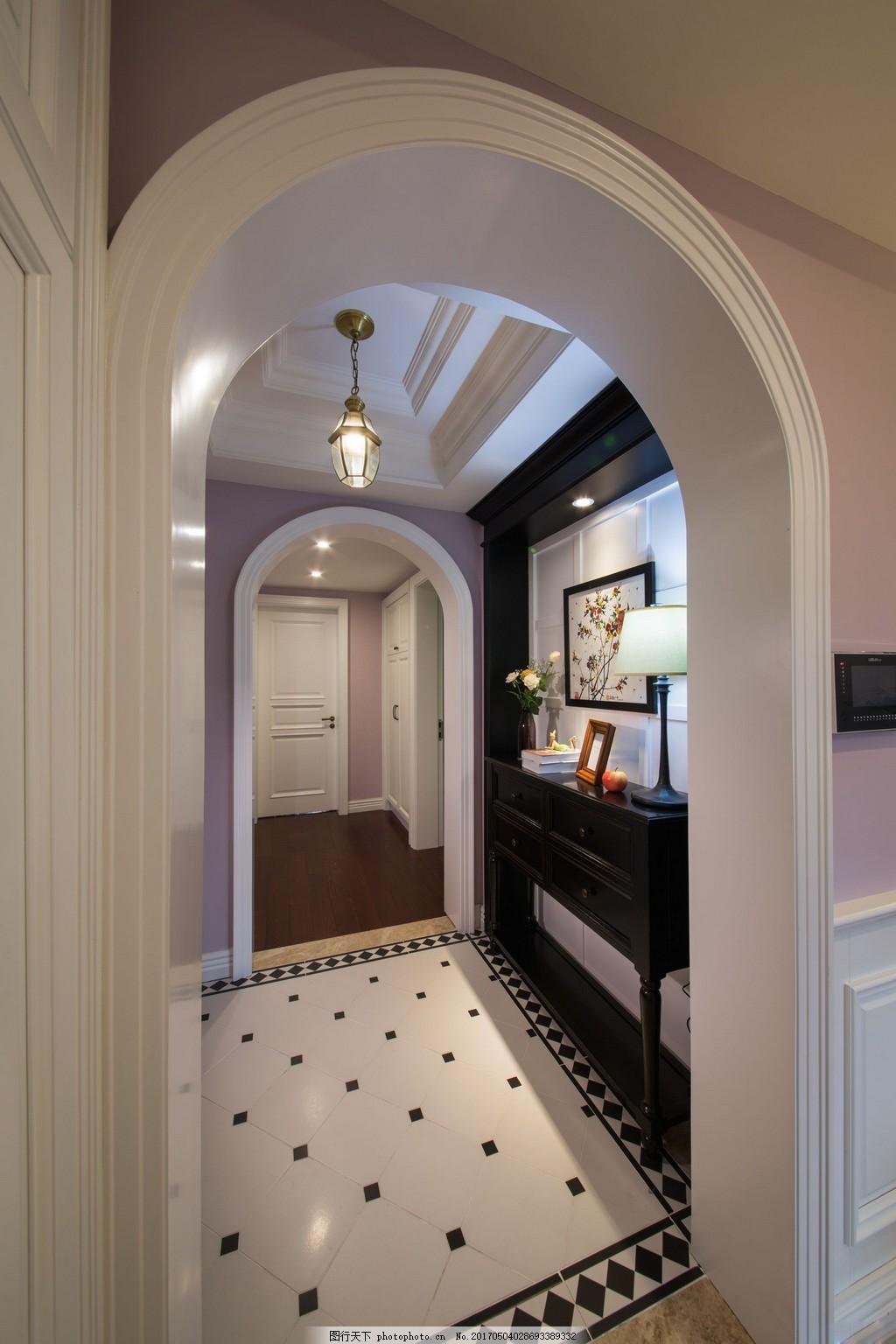 室内装修 设计素材 家装实景图 家居生活 现代装修 别墅 家居 拱门
