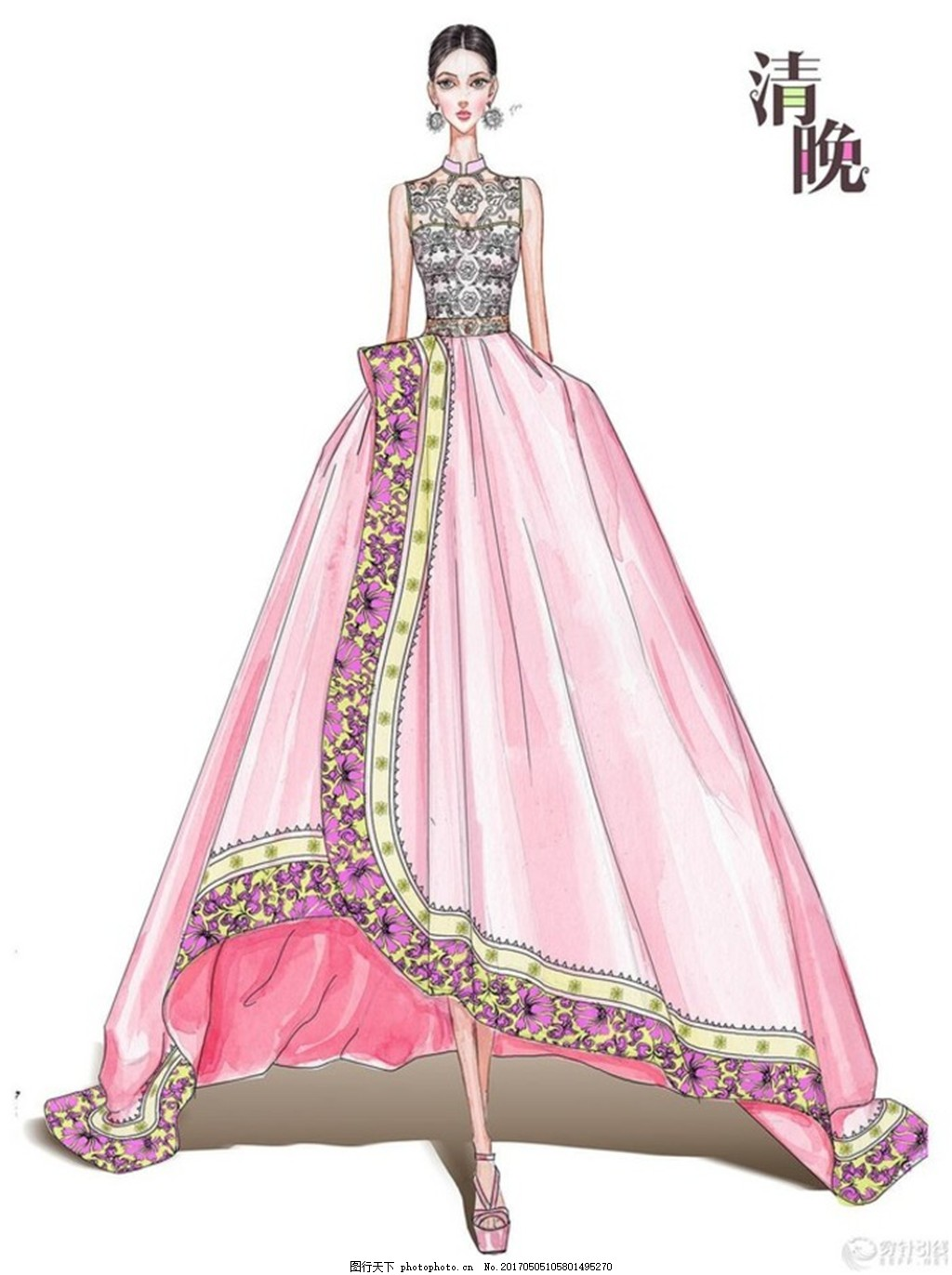 服装设计图片礼服古装展示