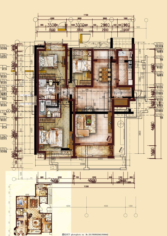 室内设计 家装平面图 手绘平面图 家居 户型图 psd素材 室内布置 手绘