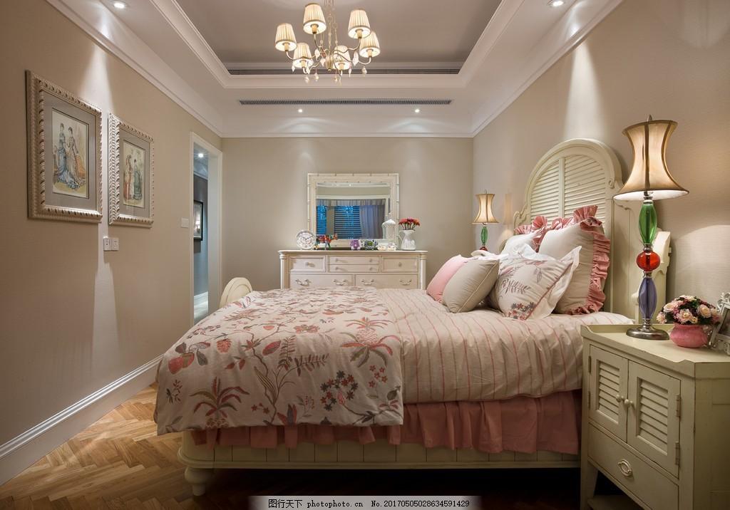 美式公主房装修效果图图片