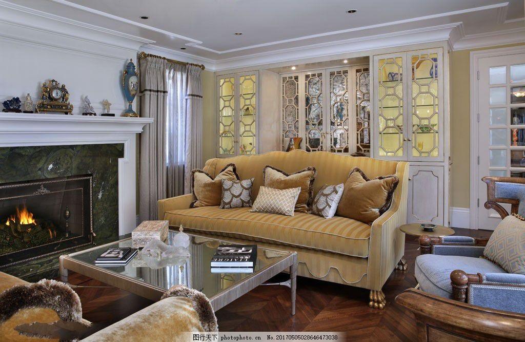 欧式客厅装修设计图片图片