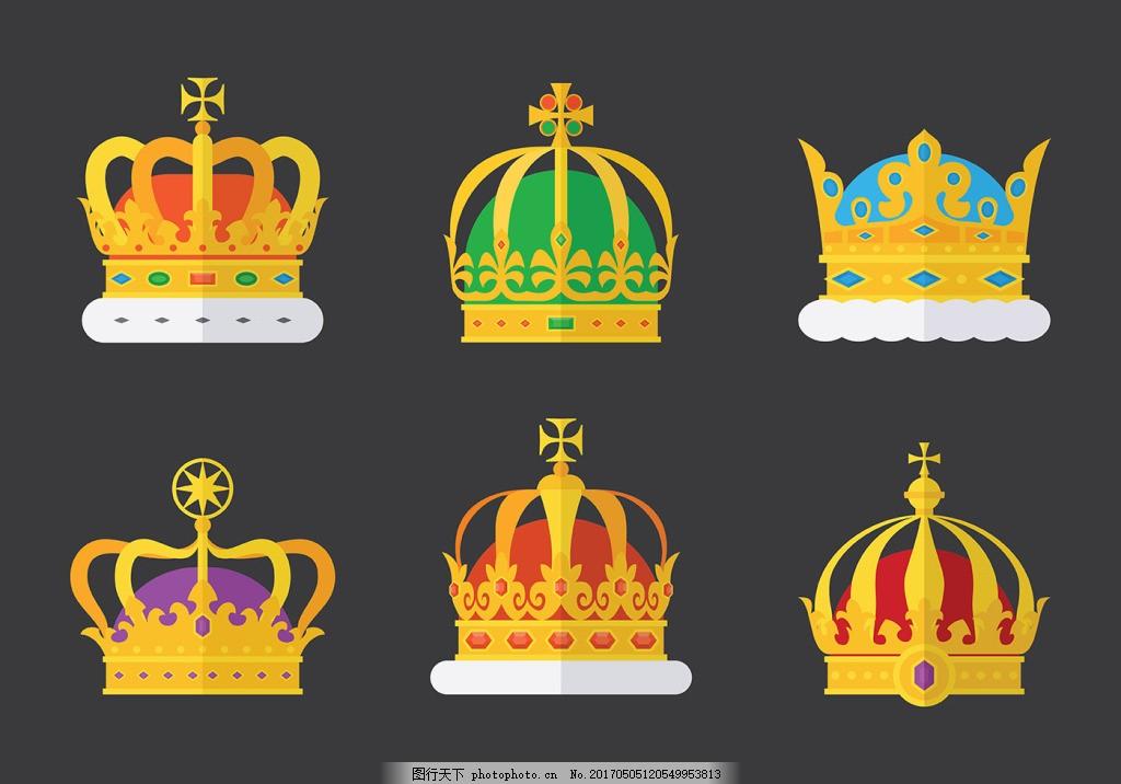 手绘皇冠图标