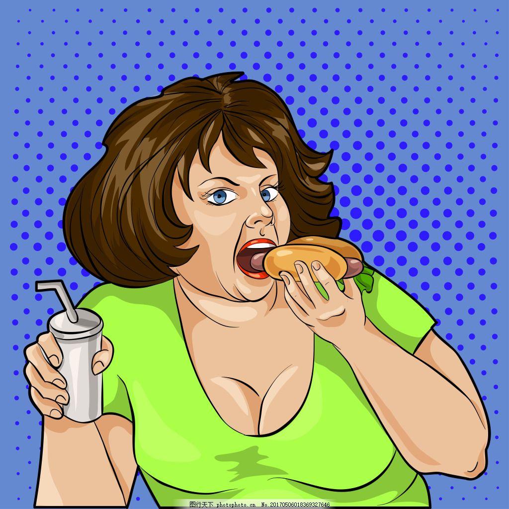 最胖的女人囹�a_吃东西的胖女人