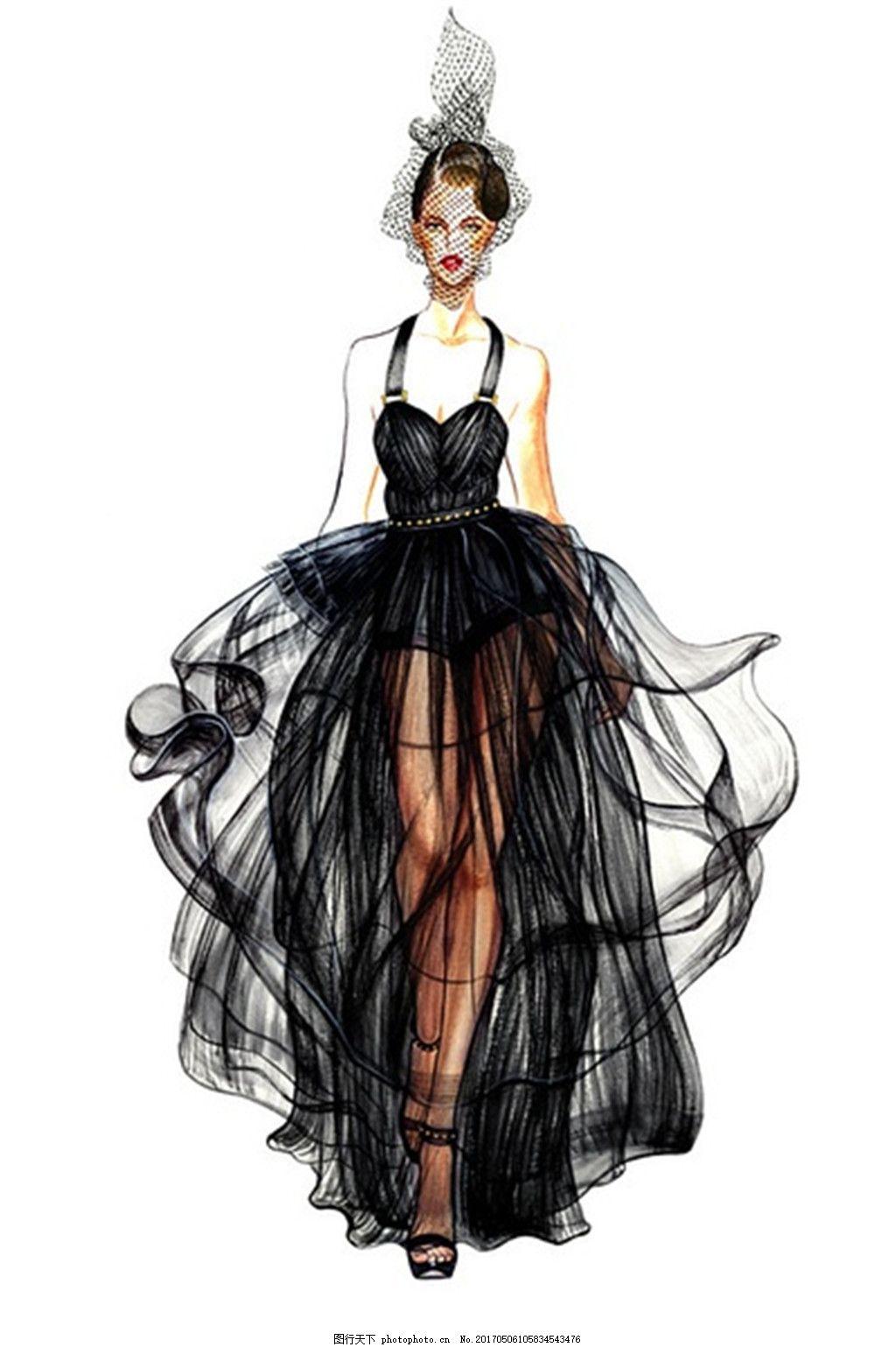 服装图片免费下载 女装设计 服装效果图 连衣裙 长裙 婚纱 礼服 手绘
