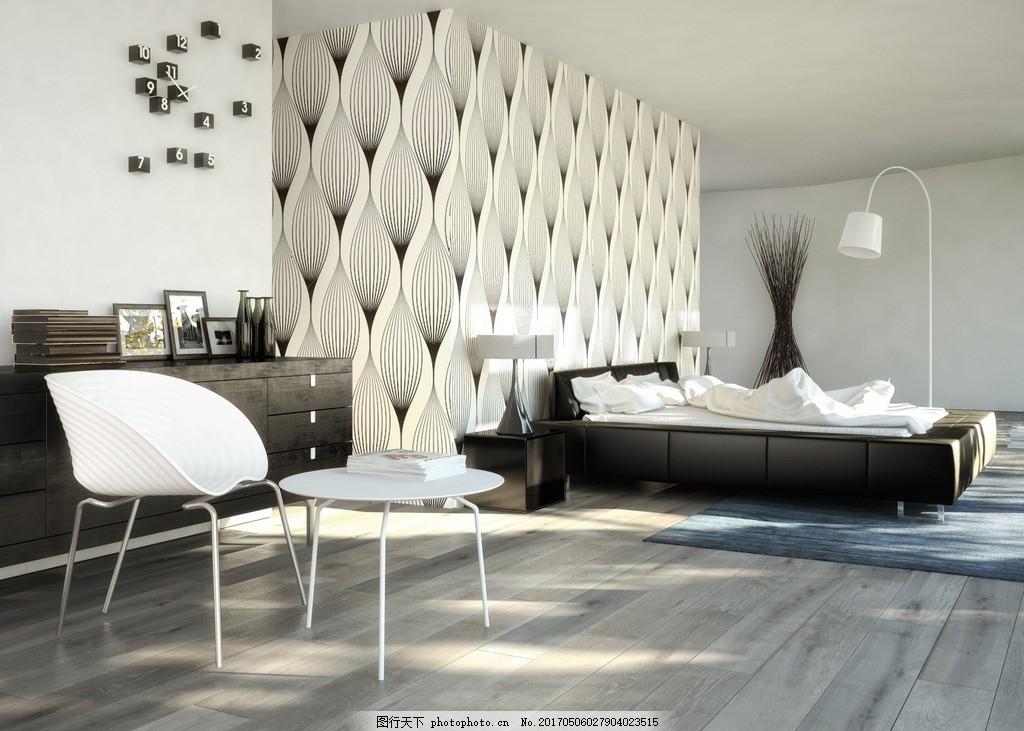 客厅 唯美 炫酷 家居 家具 欧式 简洁 简约 浪漫 白色系 木地板