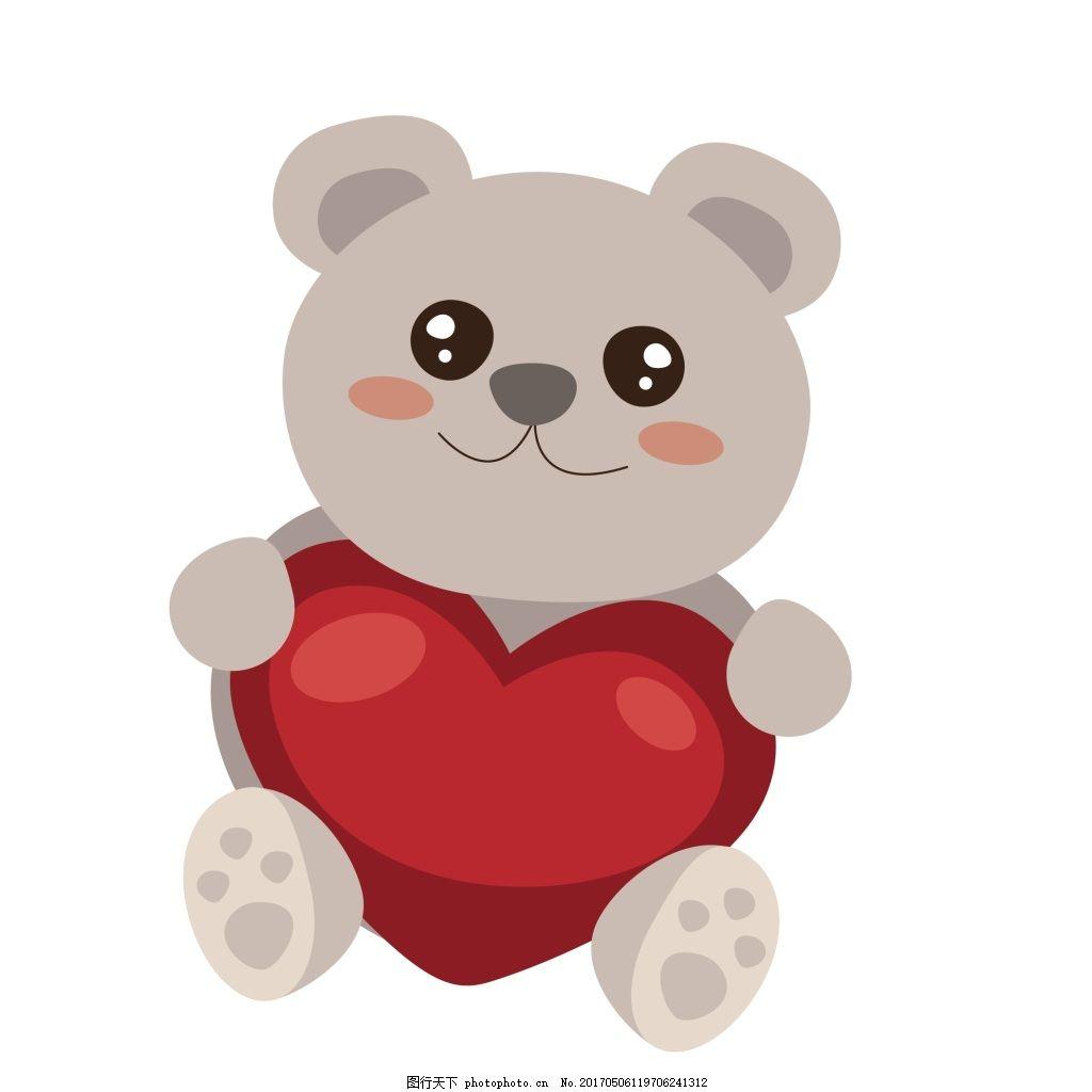 可爱玩具小熊