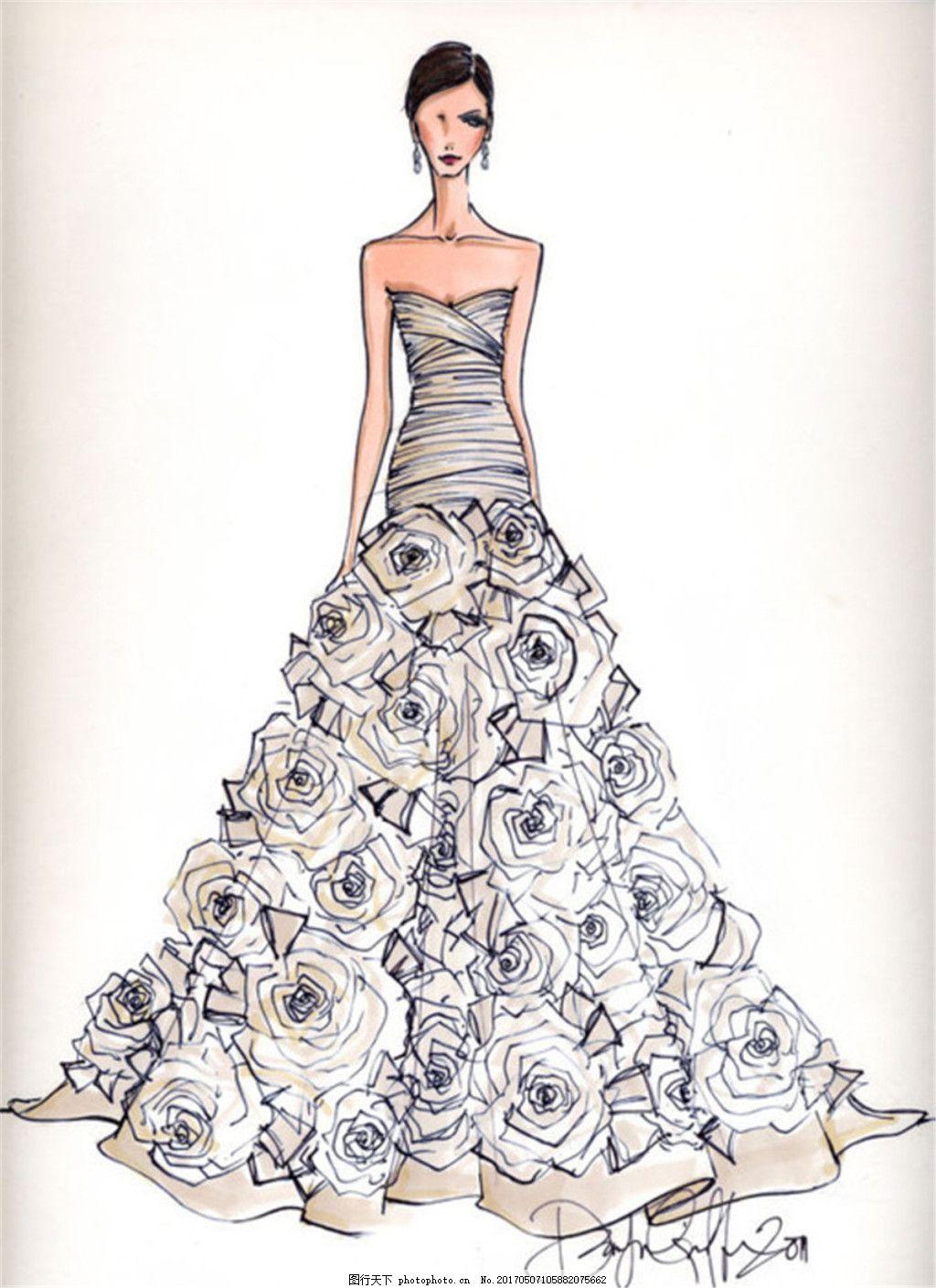 短裙 服装图片免费下载 女装设计 服装效果图 连衣裙 长裙 婚纱 礼服