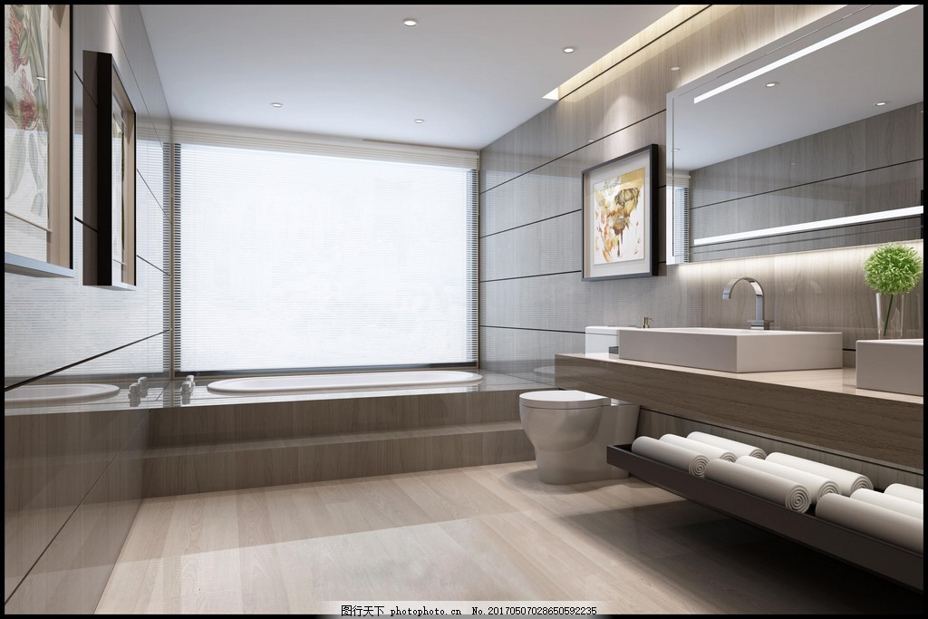 别墅卫生间装修效果图