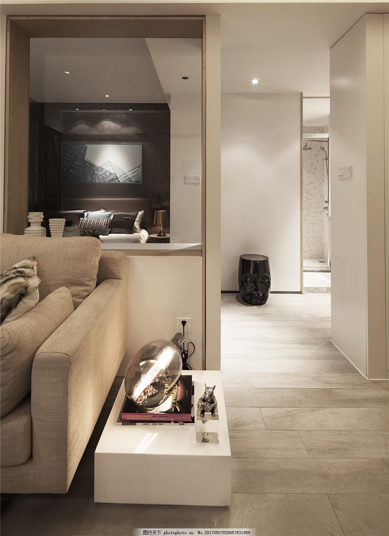 北欧现代客厅装修效果图图片