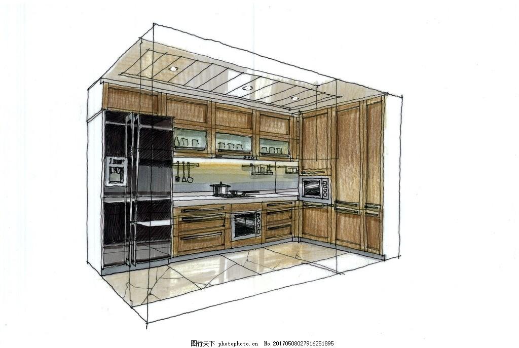 室内设计高清手绘图 装饰设计 装修设计 室内设计手绘图