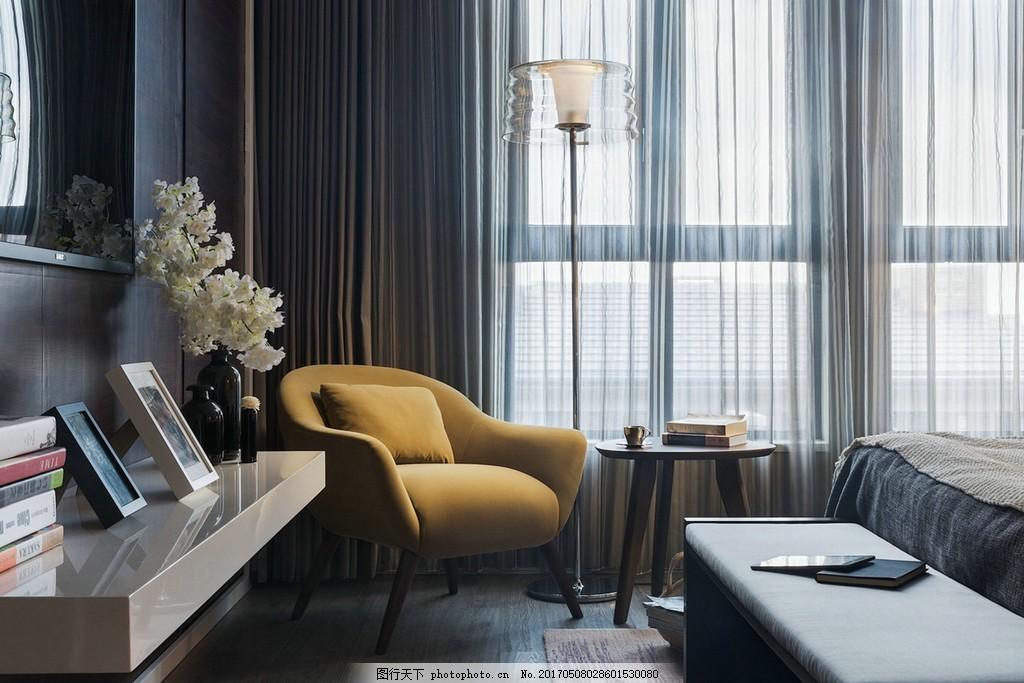 北欧家居卧室装修效果图 室内设计 家装效果图 时尚 设计素材 室内