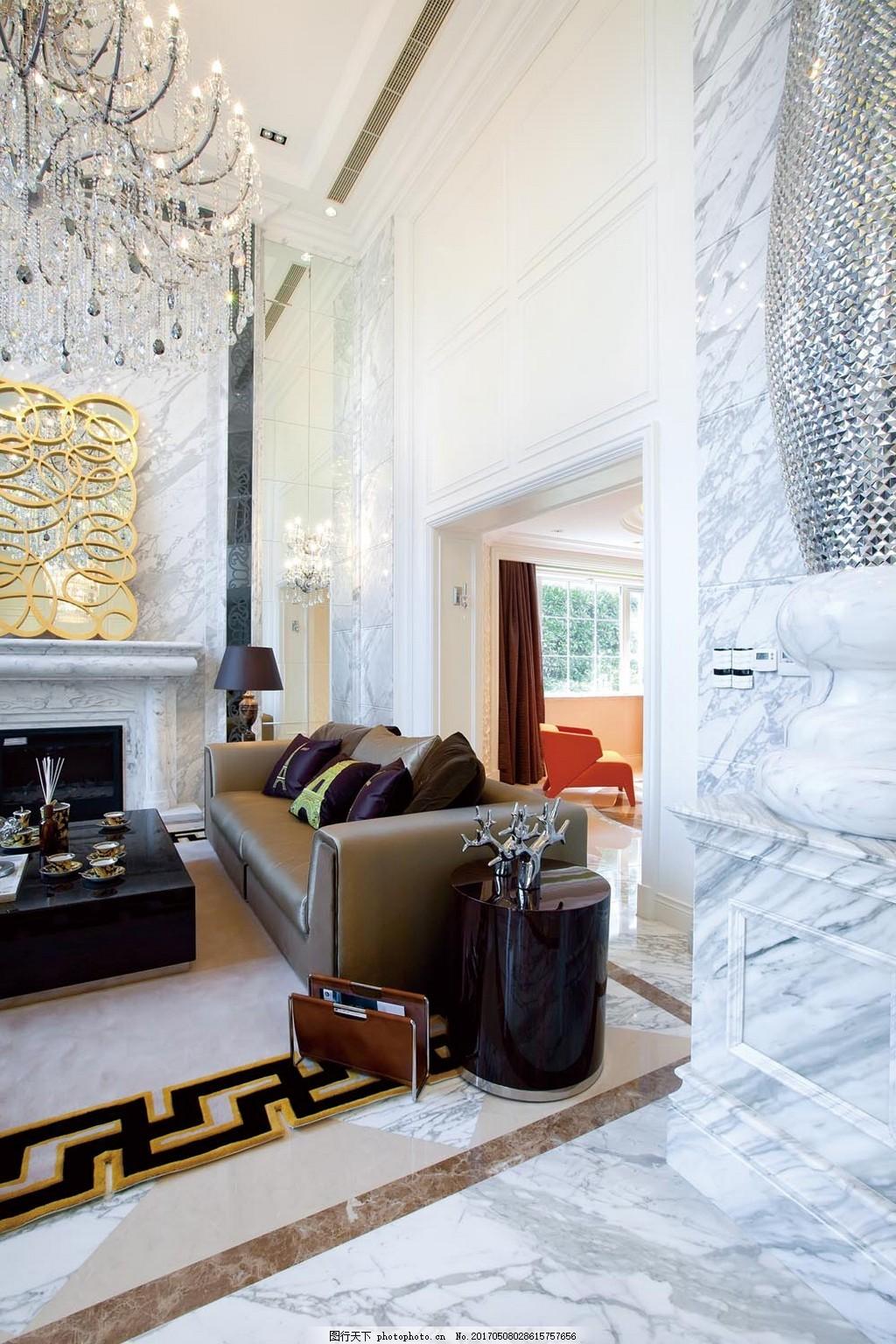 欧式时尚客厅沙发设计图