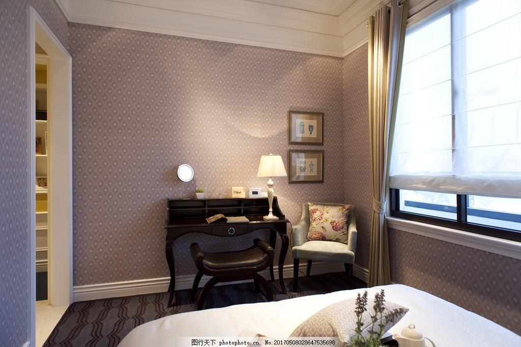 欧式卧室背景墙设计图 家居 家居生活 室内设计 装修 家具 装修设计