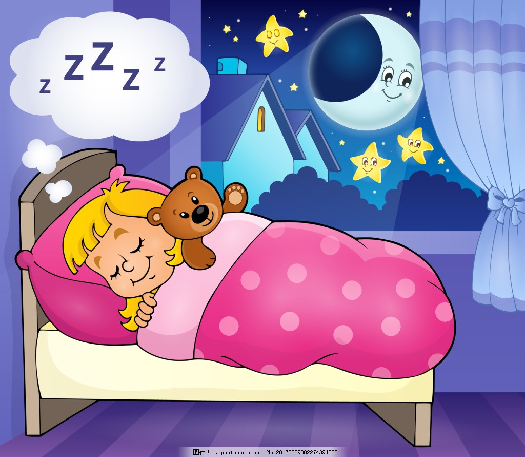 睡梦娃娃钩针图解