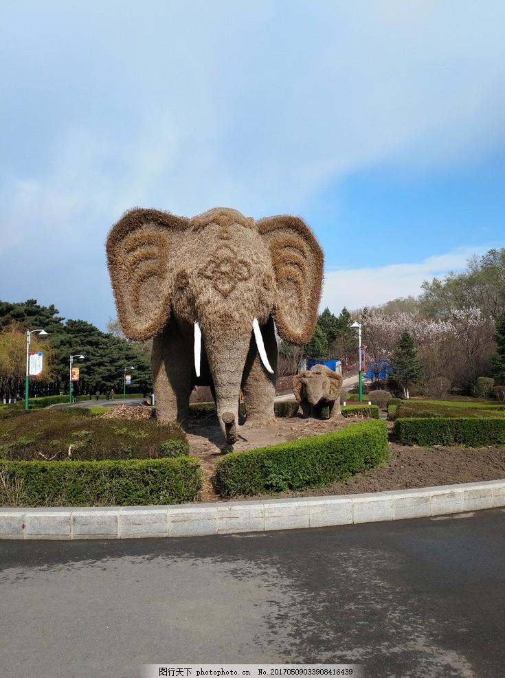 大象 植物园 植物造型 公园 风景 旅游 艺术 观光 摄影 国内旅游