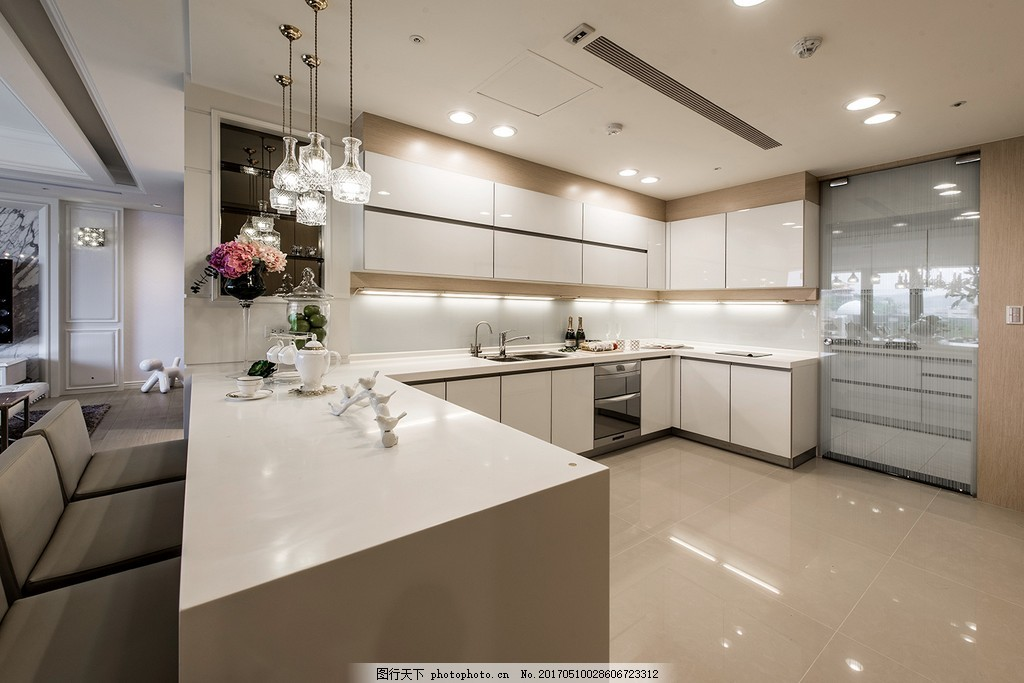 欧式简约厨房设计图