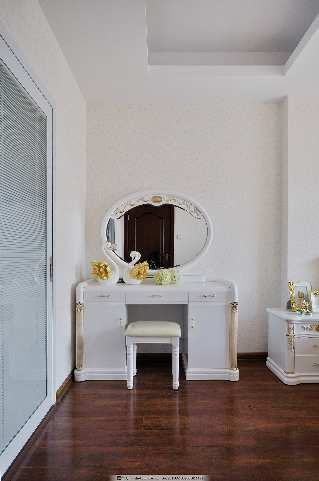 简约卧室梳妆台设计图