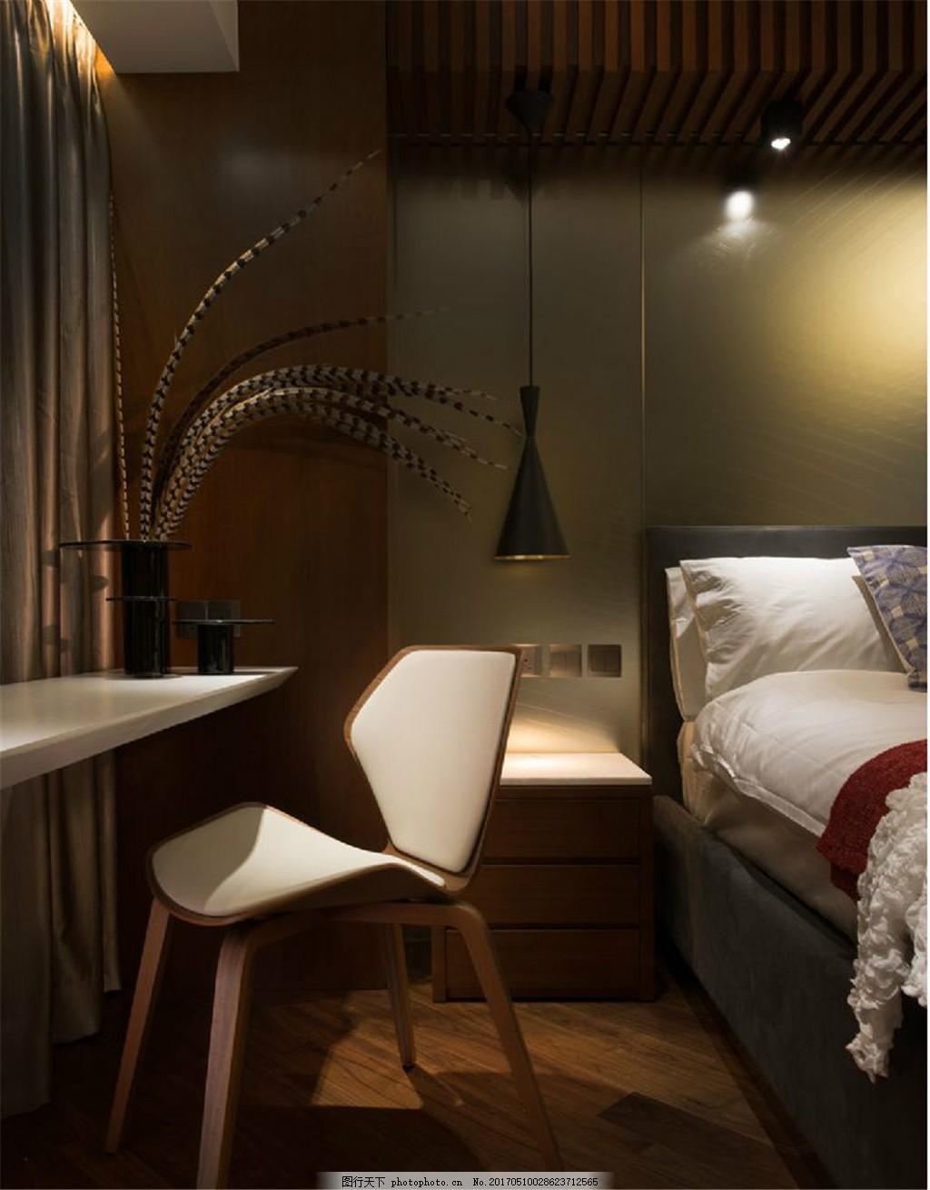 现代卧室床头灯设计图
