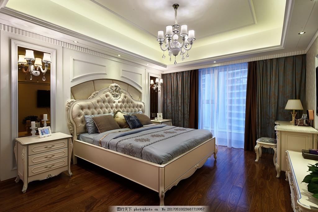 现代欧式卧室装修效果图 房屋装修设计效果图图片 jpg 环境设计 室内