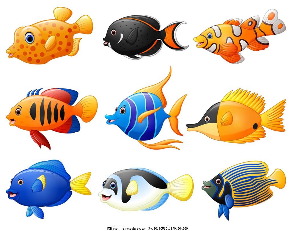 海洋鱼类漫画图片,图库背景图片-图行天下背景100全集漫画以后年图片