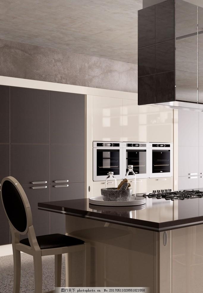 瓷砖效果图 厨房