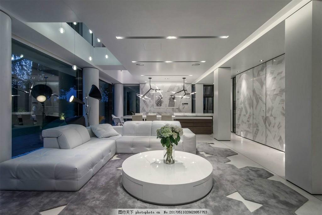别墅豪装客厅装修效果图 室内设计 家装效果图 时尚 室内装修 家装