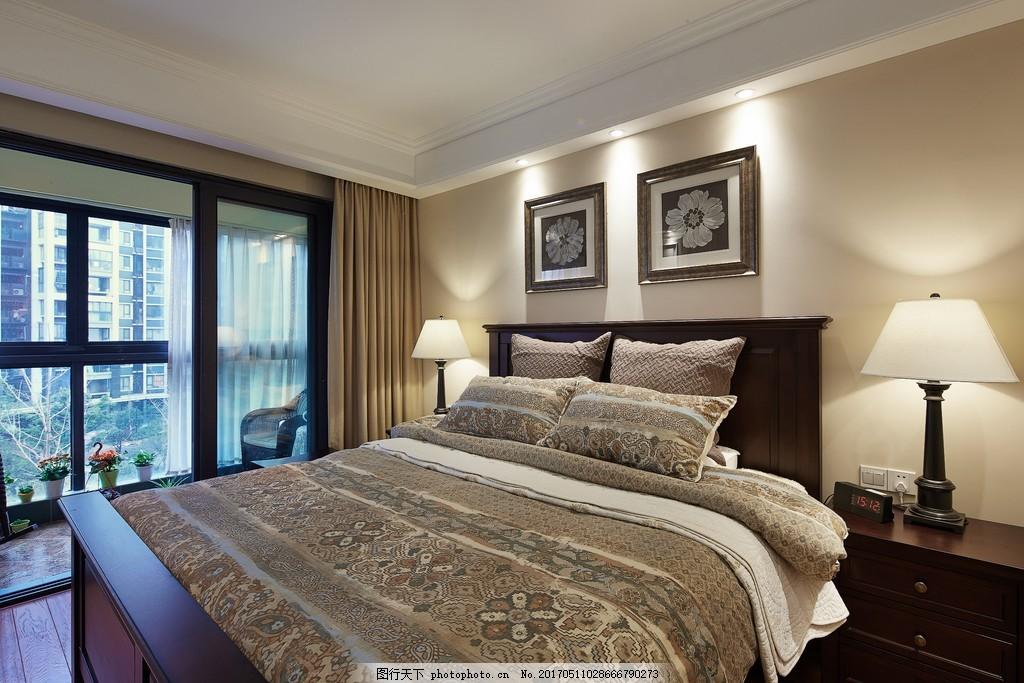 美式卧室装修效果图图片