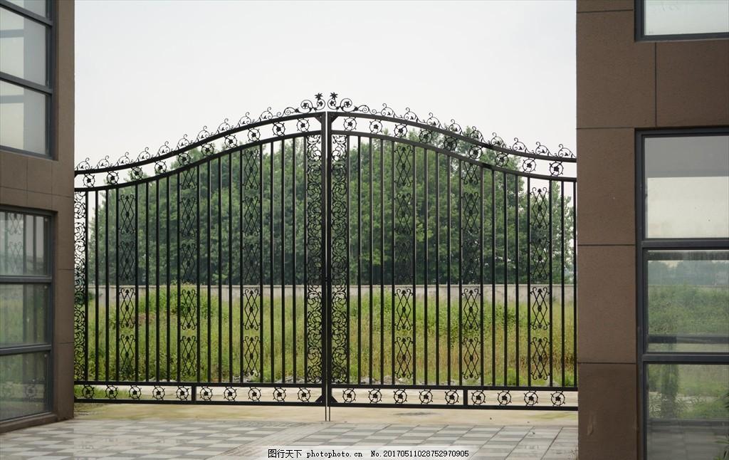 栅栏 护栏 小区护栏 不锈钢 大门 铁门 摄影 建筑园林 园林建筑 300