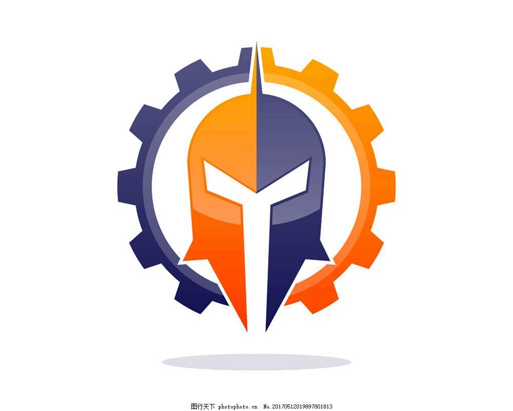 齿轮面具标志图片