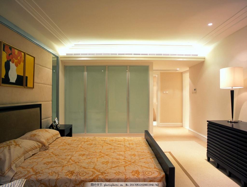 豪华别墅卧室简装效果图 室内设计 家装效果图 现代装修效果图 时尚