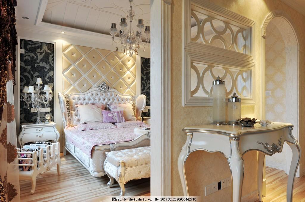 美式别墅主卧装修效果图 室内设计 家装效果图 现代装修效果图 时尚