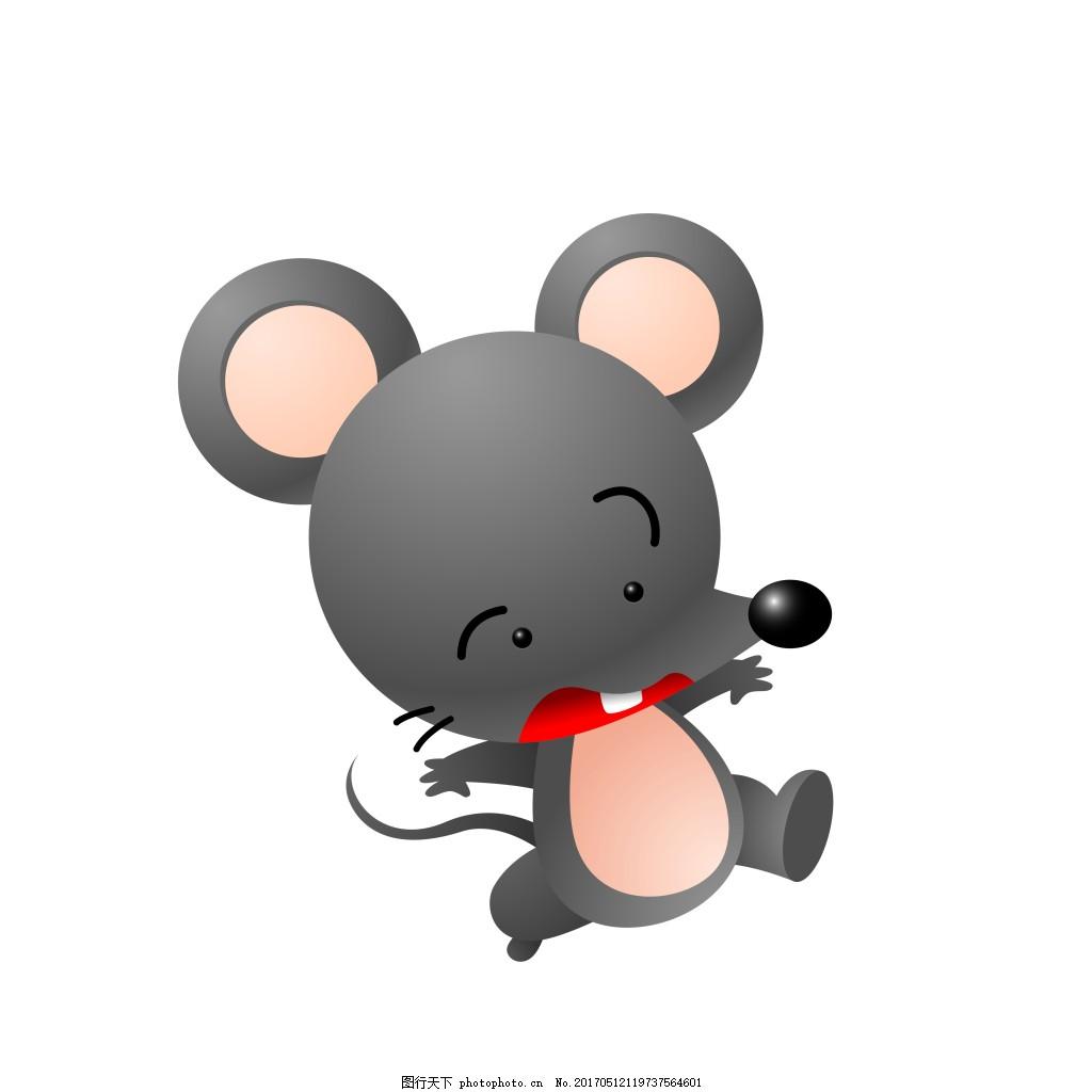 卡通惊吓老鼠eps 矢量动物素材模板矢量动物素材图片下载 卡通动物图片