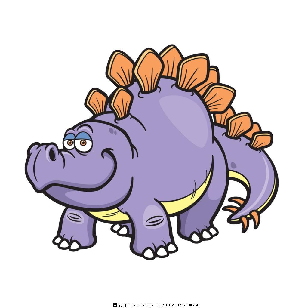 卡通恐龙 卡通 恐龙 卡通动物 儿童插画 儿童节素材 六一节海报素材
