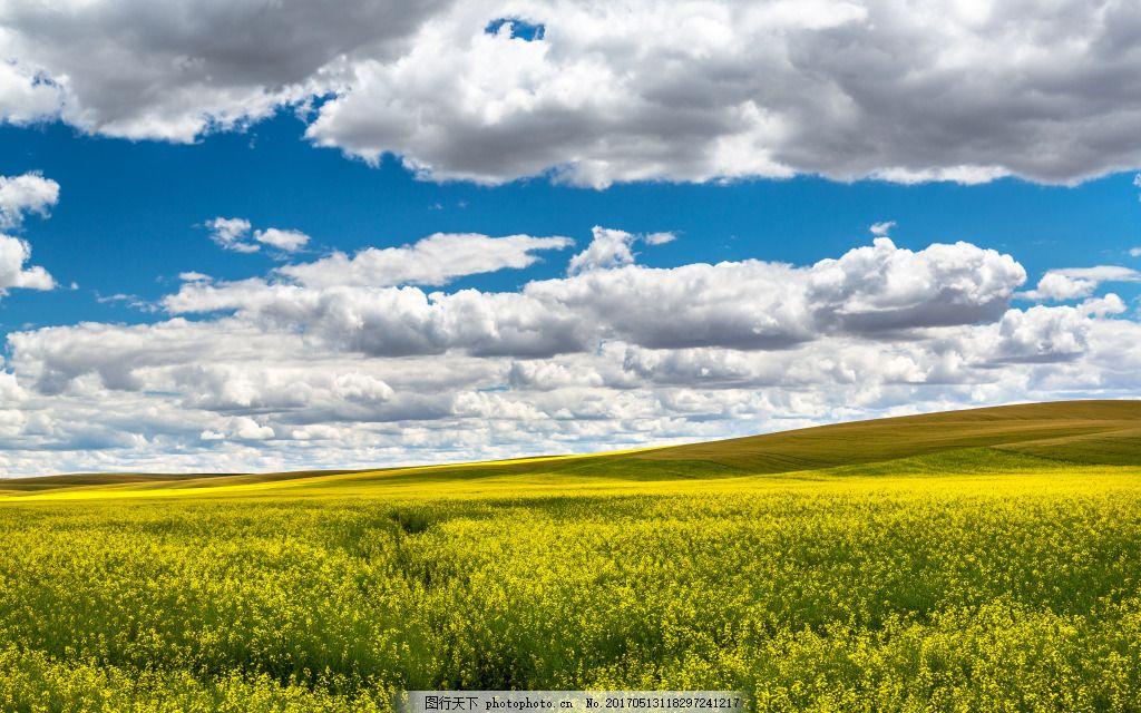 蓝天白云广告背景 4k 风景 背景