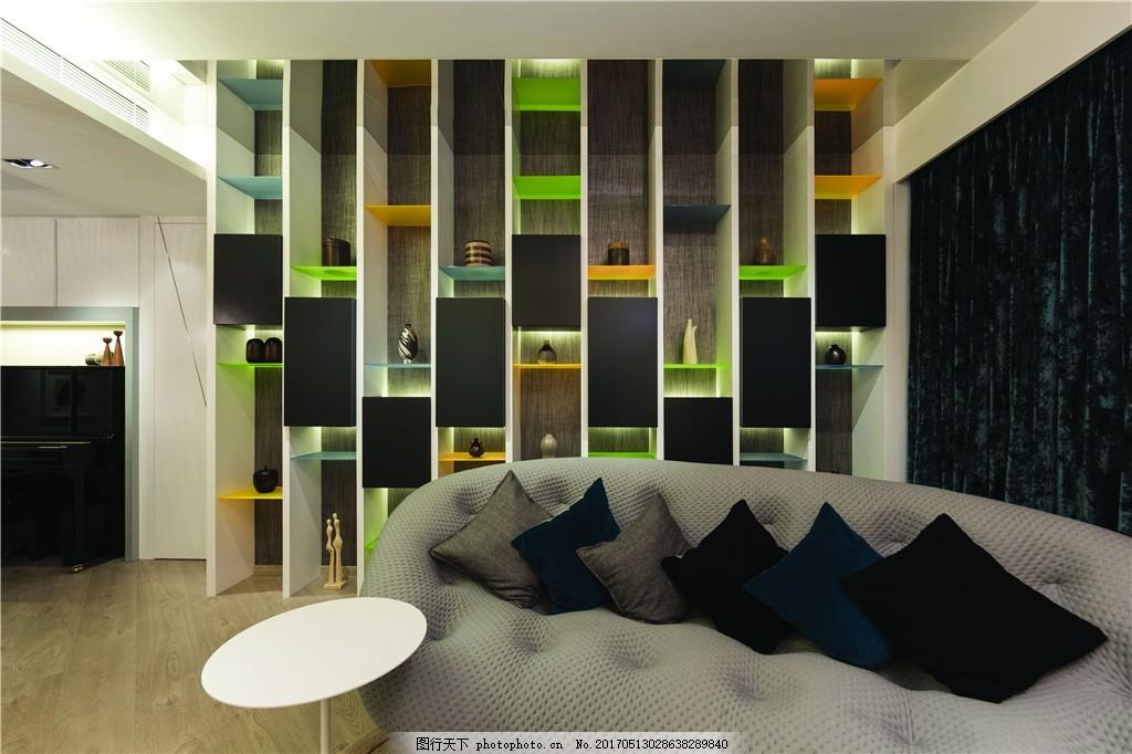 北欧家居客厅简装效果图 室内设计 家装效果图 北欧家装效果图 时尚
