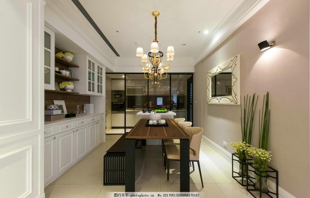 现代欧式餐厅装修效果图 房屋装修设计效果图图片 jpg 环境设计 室内