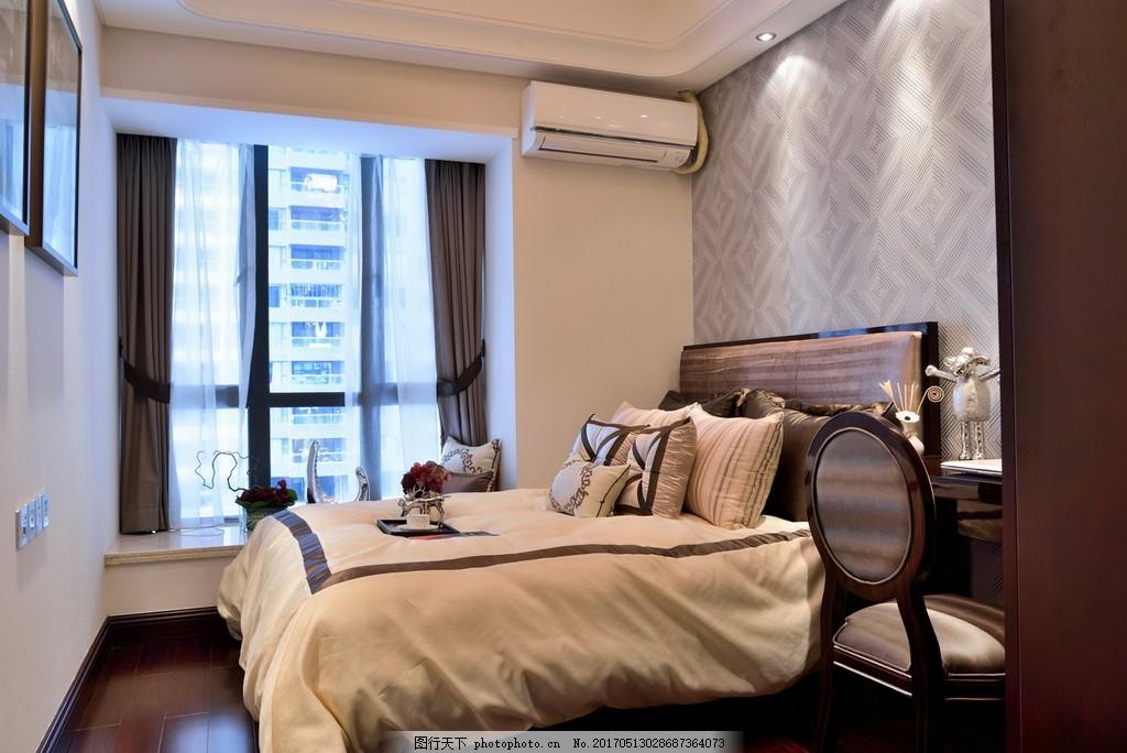 时尚卧室窗户设计图